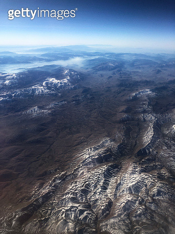 Land Forms in Central Anatolia From an Aircraft Point of View - gettyimageskorea
