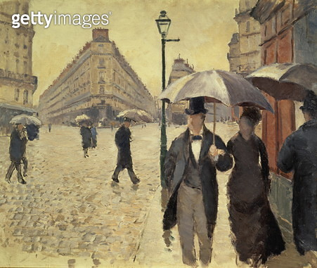 Paris, a Rainy Day, 1876-77 - gettyimageskorea