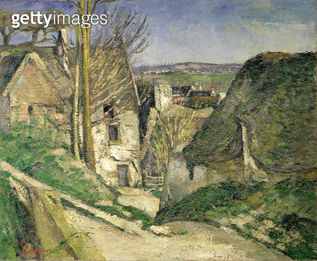 <b>Title</b> : The House of the Hanged Man, Auvers-sur-Oise, 1873 (oil on canvas) (for details see 67878 & 67879)<br><b>Medium</b> : oil on canvas<br><b>Location</b> : Musee d'Orsay, Paris, France<br> - gettyimageskorea