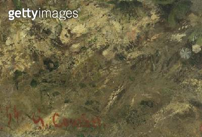 <b>Title</b> : The Meeting or Bonjour M. Courbet (detail)<br><b>Medium</b> : <br><b>Location</b> : Musee Fabre, Montpellier, France<br> - gettyimageskorea