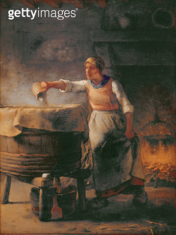 <b>Title</b> : The Boiler, 1853-54 (oil on canvas)<br><b>Medium</b> : oil on canvas<br><b>Location</b> : Louvre, Paris, France<br> - gettyimageskorea