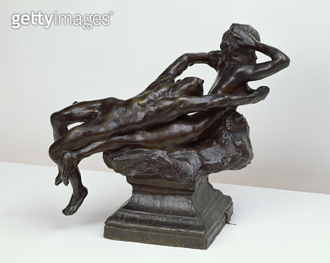 <b>Title</b> : Love Fleeing, 1881 (bronze)<br><b>Medium</b> : bronze<br><b>Location</b> : Musee d'Orsay, Paris, France<br> - gettyimageskorea