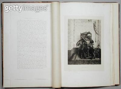 <b>Title</b> : Bozzaris, from 'A Collection of the Works of Jean-Leon Gerome in 100 Photogravures', 1881 (photogravure)Additional InfoMarco Boz<br><b>Medium</b> : photogravure<br><b>Location</b> : Dahesh Museum of Art, New York, USA<br> - gettyimageskorea