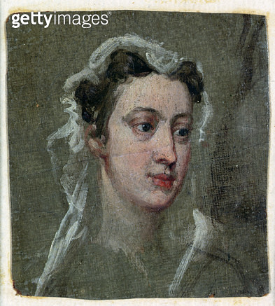 <b>Title</b> : Lavinia Fenton (1708-60) in the role of Polly Peachum from 'The Beggar's Opera' in 1728 (oil on board)Additional Infoafter the p<br><b>Medium</b> : <br><b>Location</b> : Burghley House Collection, Lincolnshire, UK<br> - gettyimageskorea