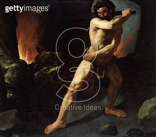 <b>Title</b> : Hercules and Cerberus, c.1634 (oil on canvas)<br><b>Medium</b> : oil on canvas<br><b>Location</b> : Prado, Madrid, Spain<br> - gettyimageskorea
