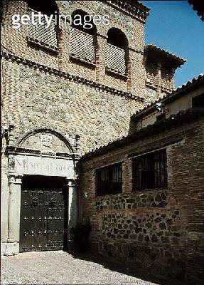 <b>Title</b> : El Greco's (1541-1614) House (photo)Additional Infocollection of Marquis de Vega Inclan;<br><b>Medium</b> : <br><b>Location</b> : Toledo, Castilla y Leon, Spain<br> - gettyimageskorea
