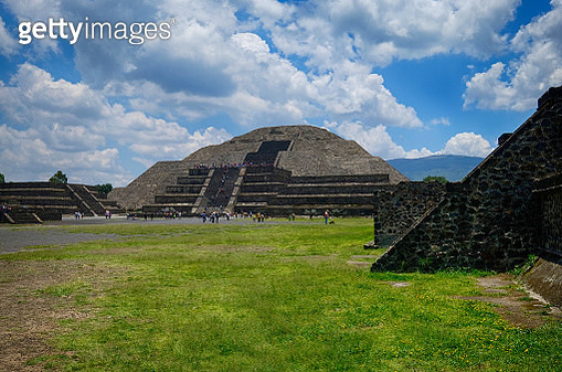 Teotihuacan Pyramids in Mexico - gettyimageskorea