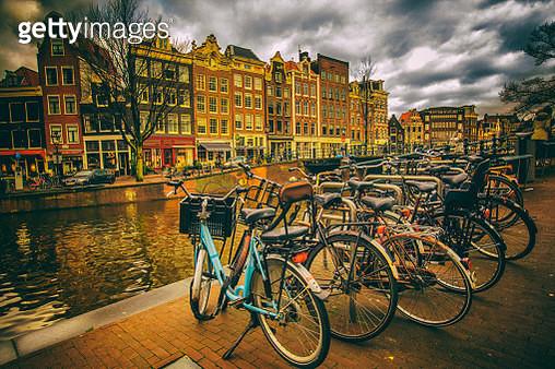 Biker's Town - gettyimageskorea