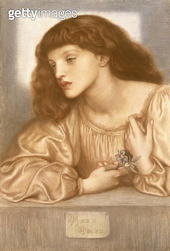 May Morris (pastel on paper) - gettyimageskorea