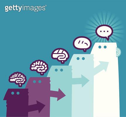 Thinking process - gettyimageskorea