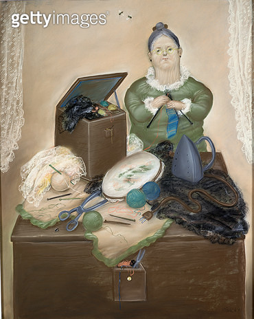 <b>Title</b> : The Dressmaker<br><b>Medium</b> : <br><b>Location</b> : Private Collection<br> - gettyimageskorea