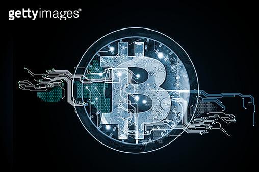 Intelligent bit coin - gettyimageskorea