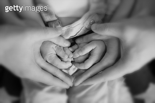 Family of hearts - gettyimageskorea