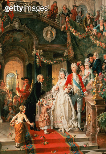 <b>Title</b> : The Wedding Party<br><b>Medium</b> : <br><b>Location</b> : Private Collection<br> - gettyimageskorea