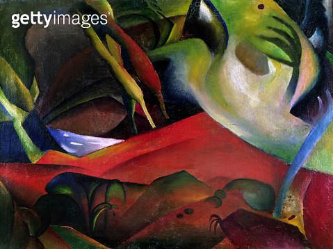 <b>Title</b> : The Storm, 1911 (oil on canvas)<br><b>Medium</b> : oil on canvas<br><b>Location</b> : Saarland Museum, Saarbrucken, Germany<br> - gettyimageskorea