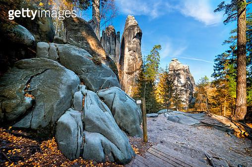 National Park Adrspach-Teplice Rocktown - gettyimageskorea