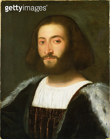 <b>Title</b> : Portrait of a Man, 1508-10 (oil on canvas)<br><b>Medium</b> : oil on canvas<br><b>Location</b> : Indianapolis Museum of Art, USA<br> - gettyimageskorea