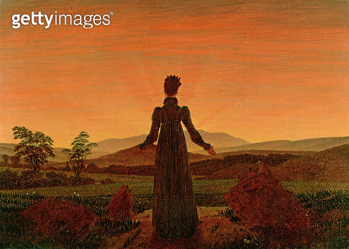 <b>Title</b> : Woman at dawn<br><b>Medium</b> : <br><b>Location</b> : Museum Folkwang, Essen, West Germany<br> - gettyimageskorea
