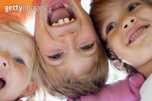 Close up of children smiling - gettyimageskorea