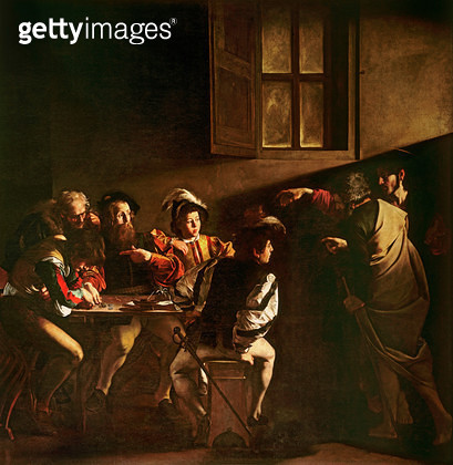 The Calling of St. Matthew/ c.1598-1601 (oil on panel) - gettyimageskorea
