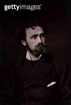 <b>Title</b> : Henri Eugene Delacroix (1845-p.1929), from 'Galerie Contemporaine', c.1874-78 (b/w photo)<br><b>Medium</b> : <br><b>Location</b> : Private Collection<br> - gettyimageskorea