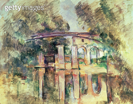 <b>Title</b> : The Aqueduct and Lock, c.1888-90Additional InfoStavros S. Niarchos Collection, Paris;<br><b>Medium</b> : <br><b>Location</b> : Private Collection<br> - gettyimageskorea