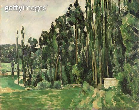 <b>Title</b> : The Poplars, c.1879-82 (oil on canvas)<br><b>Medium</b> : oil on canvas<br><b>Location</b> : Musee d'Orsay, Paris, France<br> - gettyimageskorea