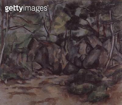 <b>Title</b> : Woodland with Boulders, 1893 (oil on canvas)<br><b>Medium</b> : oil on canvas<br><b>Location</b> : Kunsthaus, Zurich, Switzerland<br> - gettyimageskorea