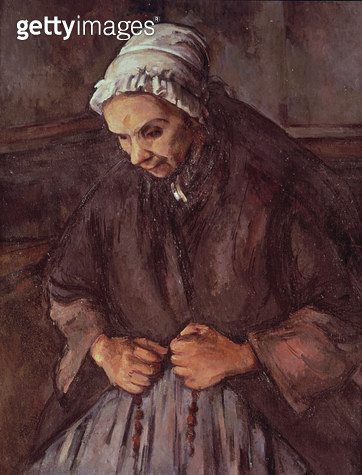 <b>Title</b> : Old Woman with a Rosary, c.1896 (oil on canvas)<br><b>Medium</b> : oil on canvas<br><b>Location</b> : National Gallery, London, UK<br> - gettyimageskorea