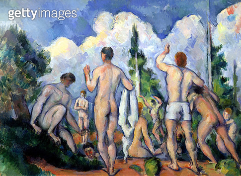 <b>Title</b> : The Bathers, c.1890-92 (oil on canvas)<br><b>Medium</b> : oil on canvas<br><b>Location</b> : Musee d'Orsay, Paris, France<br> - gettyimageskorea
