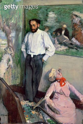 <b>Title</b> : Portrait of Henri Michel-Levy in his studio, 1879<br><b>Medium</b> : <br><b>Location</b> : Museu Calouste Gulbenkian, Lisbon, Portugal<br> - gettyimageskorea
