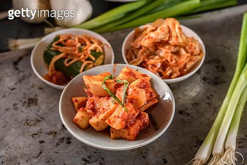 Variety of Kimchee - gettyimageskorea