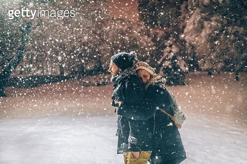 Winter love - gettyimageskorea