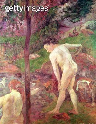 <b>Title</b> : The Bathers, 1887<br><b>Medium</b> : oil on canvas<br><b>Location</b> : Museo Nacional de Bellas Artes, Buenos Aires, Argentina<br> - gettyimageskorea