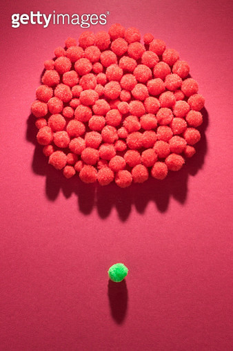 Fuffy Balls Individuality Concept - gettyimageskorea