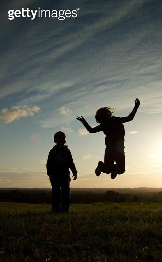 Jumping for joy - gettyimageskorea