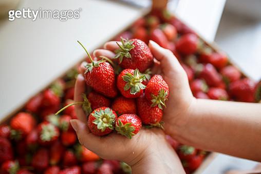 Sweet strawberries - gettyimageskorea