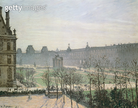 <b>Title</b> : The Tuileries, 1899<br><b>Medium</b> : oil on canvas<br><b>Location</b> : Private Collection<br> - gettyimageskorea