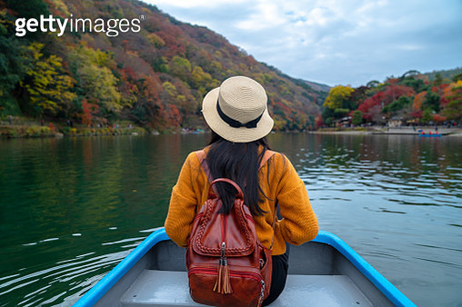 Rowing on the river - gettyimageskorea