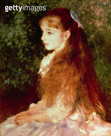 <b>Title</b> : Portrait of Mademoiselle Irene Cahen d'Anvers, 1880<br><b>Medium</b> : oil on canvas<br><b>Location</b> : Buhrle Collection, Zurich, Switzerland<br> - gettyimageskorea