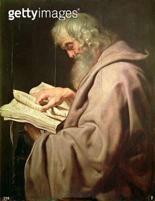 <b>Title</b> : The Apostle Simon (Peter)<br><b>Medium</b> : <br><b>Location</b> : Prado, Madrid, Spain<br> - gettyimageskorea