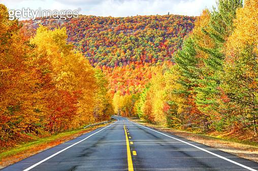 Autumn in the in the Adirondacks - gettyimageskorea