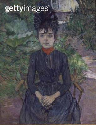 <b>Title</b> : Justine Dieuhl, c.1891 (oil on card)<br><b>Medium</b> : oil on card<br><b>Location</b> : Musee d'Orsay, Paris, France<br> - gettyimageskorea