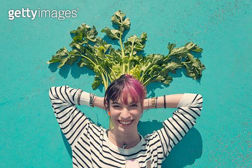 Vegan portrait - gettyimageskorea