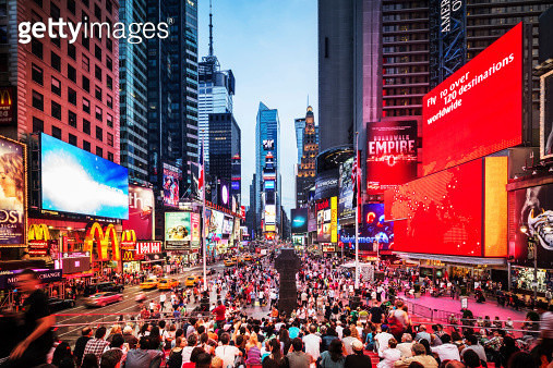 Times Square New York City - gettyimageskorea