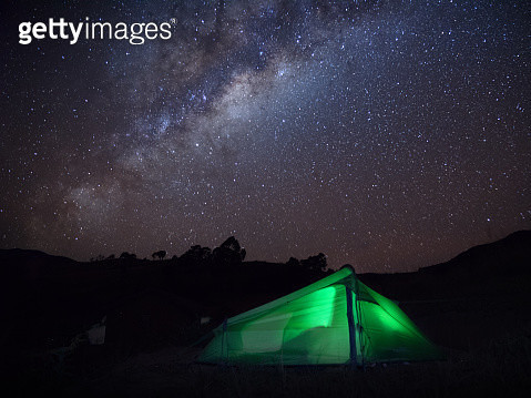 Tent with a view - gettyimageskorea