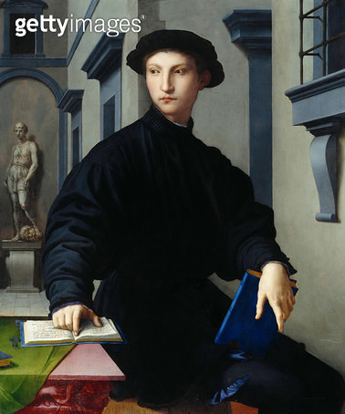 Ugolino Martelli, 1536-37 (oil on poplar panel) - gettyimageskorea