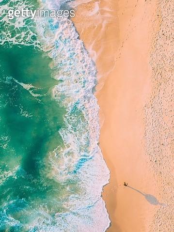 Aerial View Of Seashore - gettyimageskorea