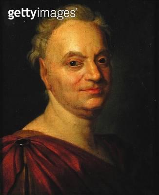 <b>Title</b> : Prosper Jolyot de Crebillon (1674-1762) after Francois Boucher (oil on canvas)<br><b>Medium</b> : oil on canvas<br><b>Location</b> : Musee des Beaux-Arts, Rouen, France<br> - gettyimageskorea