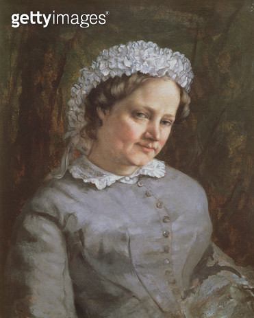 <b>Title</b> : Portrait of Madame Prudhon (oil on canvas)Additional Infowife of the artist Pierre Paul;<br><b>Medium</b> : oil on canvas<br><b>Location</b> : Musee d'Orsay, Paris, France<br> - gettyimageskorea